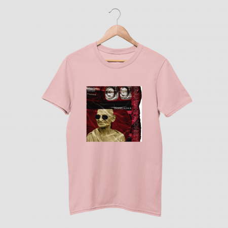 GANDHI MONEY Cotton Candy Pink Hald Sleeve T-Shirt