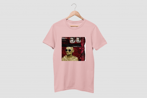 GANDHI MONEY Cotton Candy Pink Hald Sleeve T-Shirt