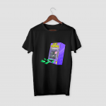 Just Vending White Half Sleeve T-Shirt.png