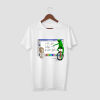 all the kids are depressed white half sleeve t-shirt