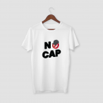 no-cap-pink half sleeve t-shirt
