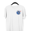 Doge Coin Top Right White Half Sleeve T-Shirt