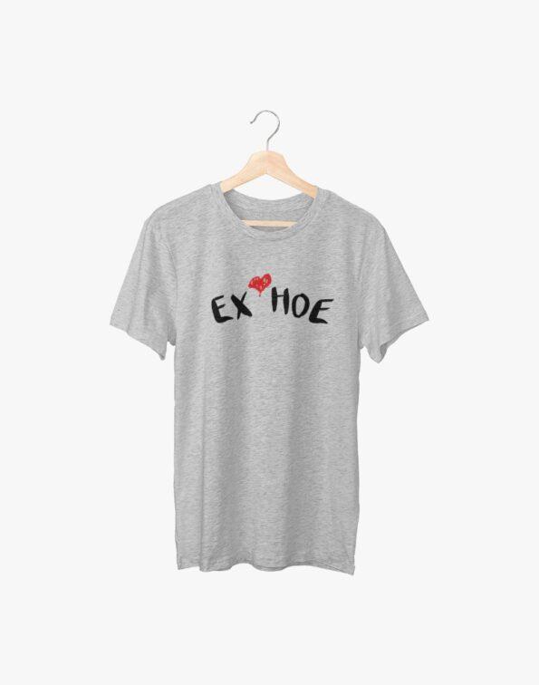 Ex Hoe Grey Half Sleeve T-Shirt