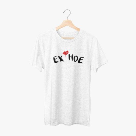 Ex Hoe White Half Sleeve T-Shirt